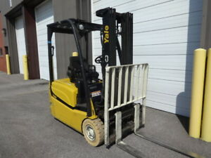Ee Rated 2012 Yale 3 wheeler Units With Pneumatic Tires