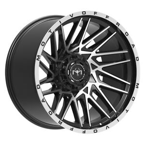 Motiv 424mb Mutant Rim 20x9 8x170 Offset 18 Black Machined Face Qty Of 4