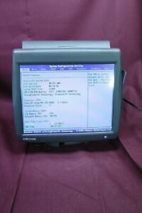 Micros Workstation 5a Pos Touchscreen Terminal On Stand 400814 101 1993