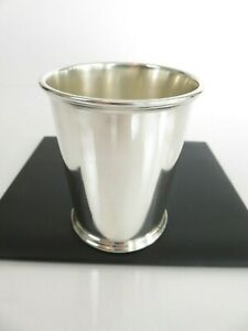 Classic Vintage American S Kirk Son Sterling Silver Mint Julep Cup C1950s