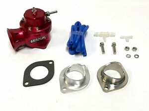 Obx Racing Sports Red Universal Aluminum Bov With Floating Valve 40mm