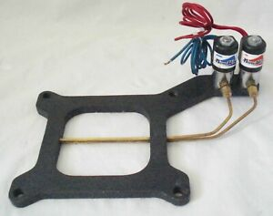 Nitrous Works Nitrous Injector Plate Soleniod Kit 4150 Holley 100hp