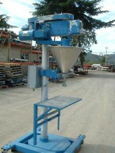 Mateer Model 31 a Auger Filler Stainless Steel Product Contact
