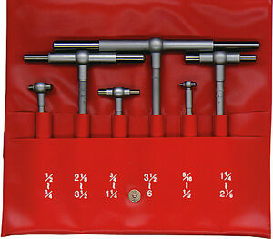 Mitutoyo Series 155 Telescoping Hole Gages 5 Pc Set new 155 904