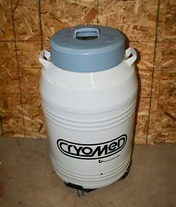 Cryomed Cmr 3500 Forma Scientific Liquid Nitrogen Tank Dewar With Power