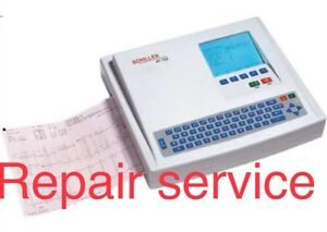 Schiller Cardiovit At Ekg ecg Evaluation For Repair Service