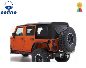 Smittybilt For 2007 2009 Jeep Jk Wrangler Unlimited Replacement Soft Top 9080235