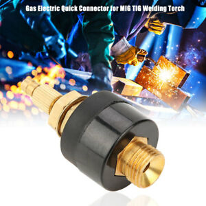 Gas Electric Quick Connector Mig Tig Welder Torch Consumables High Quality Ms