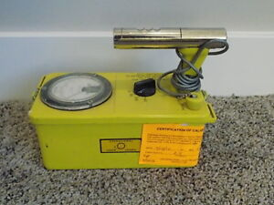Victoreen Cdv 700 6a Geiger Counter Civil Defense Prepper Nuclear War Prep