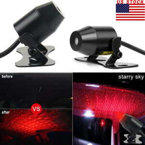 Usb Car Atmosphere Lamp Interior Ambient Star Light Starry Sky Bright Us