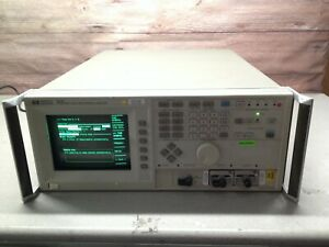 Hp Hewlett Packard 5371a Frequency Time Interval Analyzer Tested To Power On
