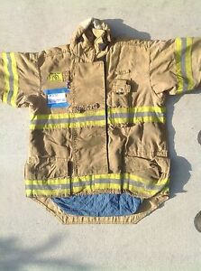 Morning Pride Fire Fighter Turnout Jackets Size 42