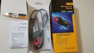 New Fluke I200 Ac Current Clamp And More Great Must See