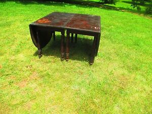 Classical 2 Part Drop Leaf Banquet Dining Table W Center Delivery Available