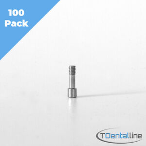 X100 Titanium Screw For Dental Implant Abutment Compatible To Mis Zimmer Ab