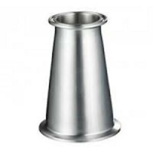 1 5 To 3 Tri Clamp Tri Clover Sanitary Concentric Reducer 304 Stainless