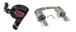2015 2017 Mustang 3 7l V6 Roush Axle Back Exhaust Cold Air Intake System Kit