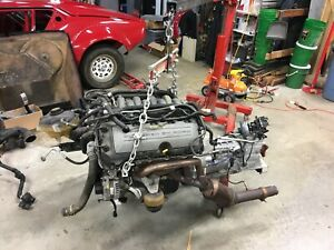 2013 Mustang Gt Coyote 5 0 Complete Engine Pull With Manual 6 Speed