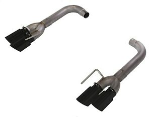 Pypes Performance Exhaust Sfm88msb Axle Back Exhaust Fits 18 Mustang