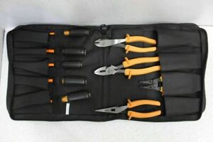 Ideal 9pc Insulated Tool Kit W Tool Roll Bag 35 9108