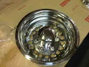 Mercedes Sprinter Van 16 One Rear Wheel Simulator Wheel Cover Hub Cap Stainless