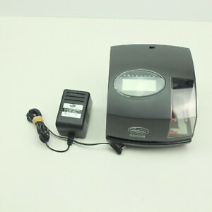 Lathem 1000e Electronic Document Stamp Digital Time Clock With Power Cord No Key