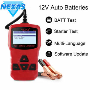 Nexas Nb300 12v Car Battery Tester Universal Auto Digital Battery Analyzer Tool