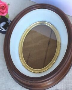 Antique Wood Frame Dovetailed