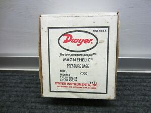 Dwyer 2060 Magnehelic Pressure gauge 60psi new in box
