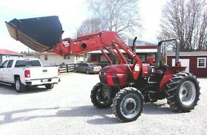 Case Ih C 50 4x4 Tractor With Qt Loader Bkt Shipping Available At 1 85 mile