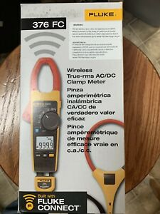 Fluke 376 Fc Series True rms Wireless Ac dc Clamp Meters Fluke 376fc