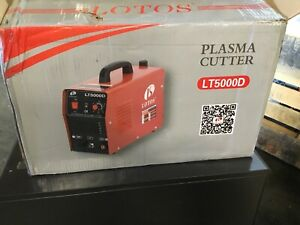 Welding Machines Lotos Lt5000d Dc Inverter Plasma Cutter Untested Sell As Is
