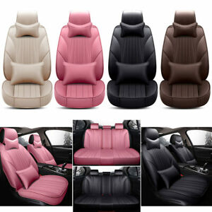 Car Seat Cover Set Protector Front rear Cushion Or Seat Accessory Leakproof Pad