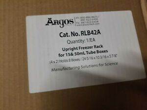 Argos Upright Freezer Rack For 15 And 50ml Tube Boxes Rlb42a