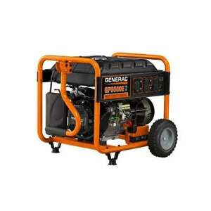 Gp Series 6500 Watt Portable Generator With Electric Start 5941