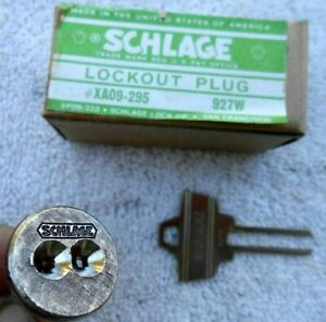 Schlage Lock Lockout Plug Locksmith Tool
