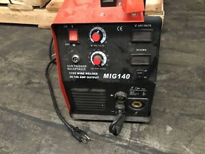 Lotos Welder Mig140 Untested Sell As Is Or For Parts