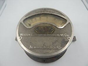 Weston Thermo ammeter Model 400 Vintage Multimeter Large
