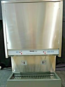 Scotsman Touch Free Air Cooled Nugget Ice Maker Dispenser Tde550as 1a