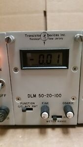 Transistor Devices Dlm50 20 100 Modular Dynaload 5