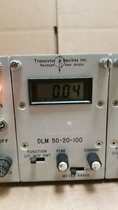 Transistor Devices Dlm50 20 100 Modular Dynaload 1