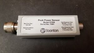 Boonton 57006 Peak Power Sensor Good
