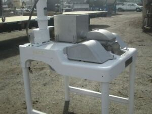 Fitzpatrick Hammer Mill Model Dao 6 S s Product Contact Auger Feed