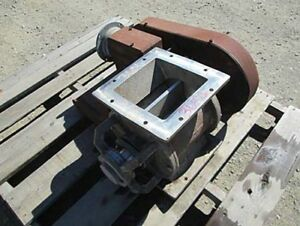 Wm W Meyer Son Rotary Valve Size 18 X 8 Hd 3 4 Hp Drive
