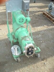 Tri Clover Positive Displacement Pump
