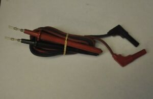 Lot Of 10 Sets New Simpson 260 Multimeter Replacement Test Leads 00043 Efj