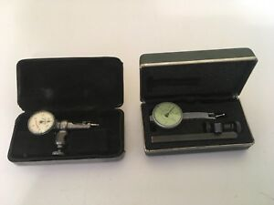 Starrett Last Word And Federal Testmaster T 1 Dial Indicators