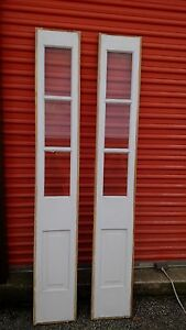 Exterior Door Side Lites One Pair No Frame Stained And Painted We Ship