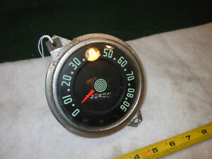 Vintage Sw Stewart Warner Speedometer 0 90 48 Mercury Maybe