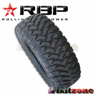 1 Rolling Big Power Rbp Repulsor Mt 37x13 50r20lt 127q All Terrain Mud Tires